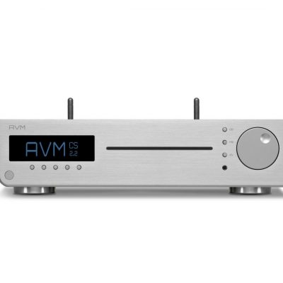 AVM-Audio-CS-2-2-4T-Silver-Aluminium-Version-Audiophile-AlI-In-One-HiFi-Compact-Streaming-System-Receiver-CD-Player-Bluetooth-Analog-Digital-Phono-Inputs-Inspiration-Series-Handcrafted-in-Germany